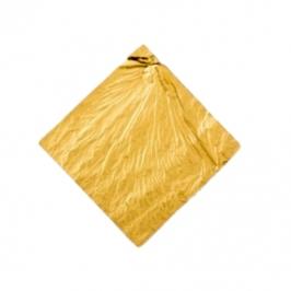 Set de 5 Hojas de Oro Comestible 8 cm