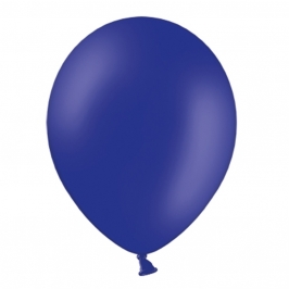 Set de 50 Globos Azul Real Pastel 30 cm