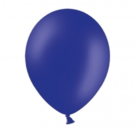 Set de 50 Globos Azul Royal Pastel 23 cm