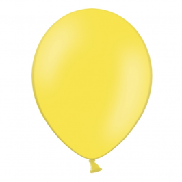 Set de 50 Globos de Látex Amarillo Pastel 30cm