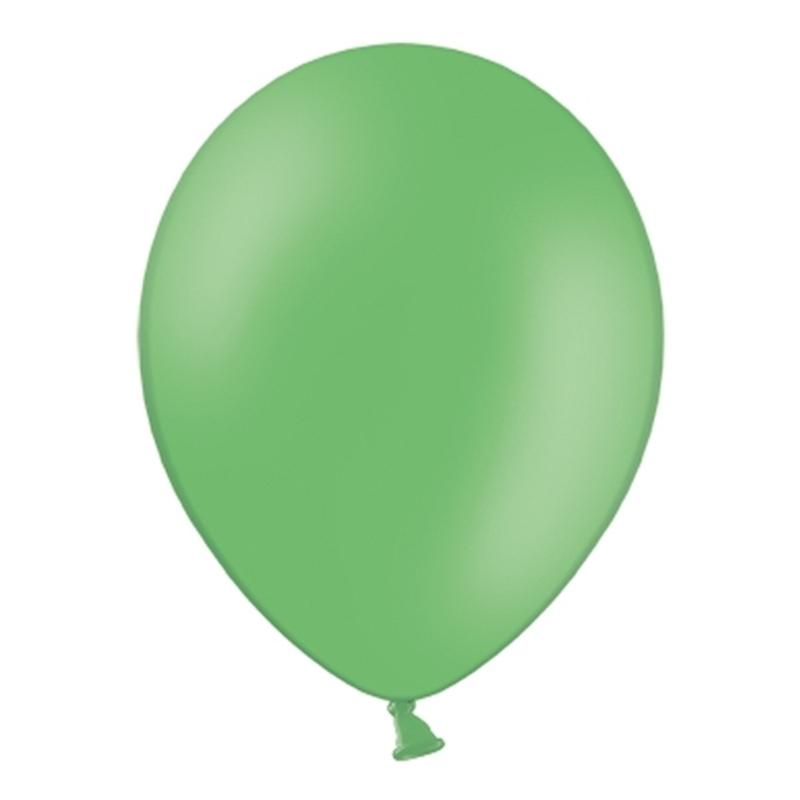 Set de 50 Globos Verde Esmeralda Pastel 30 cm
