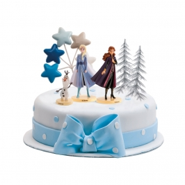 Set de 6 figuras para decorar tu tarta de Frozen