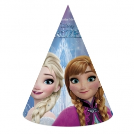 Set de 6 Sombreros Cono Frozen Northern Lights