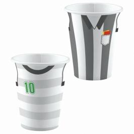 Set de 8 vasos Fútbol Kicker