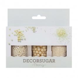 Set de Decoraciones de Azúcar Perladas