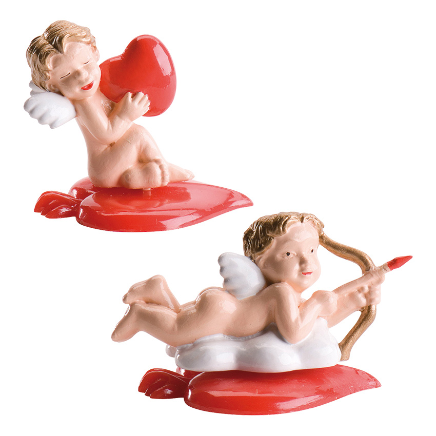 Set de Figuras para Tartas Cupidos San Valentín