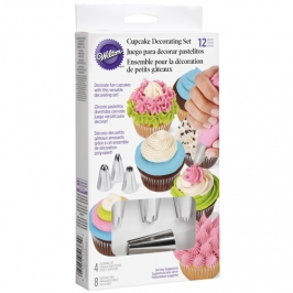 Set decoración de cupcakes Wilton (12 pcs)