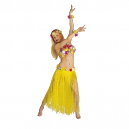 Set Hawaiana Color Amarillo