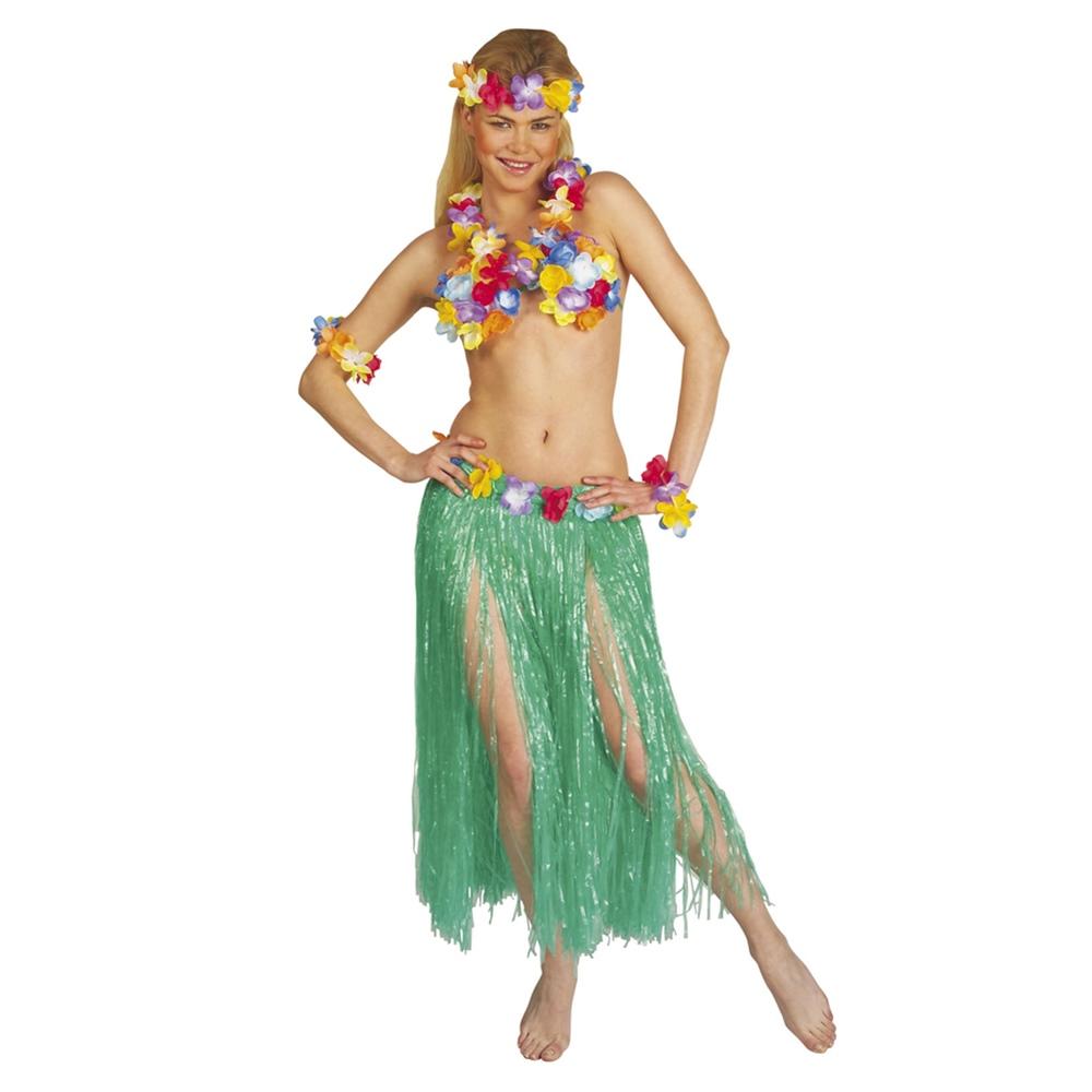Set Hawaiana Color Verde