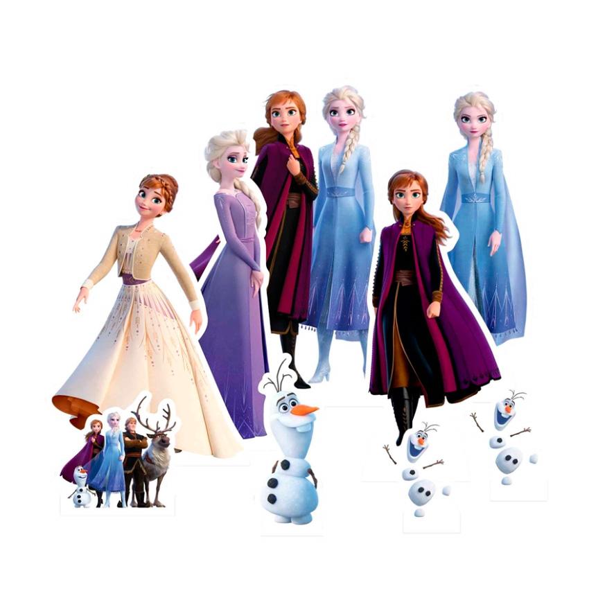 Set para Decoración de Mesas Dulces Frozen 2