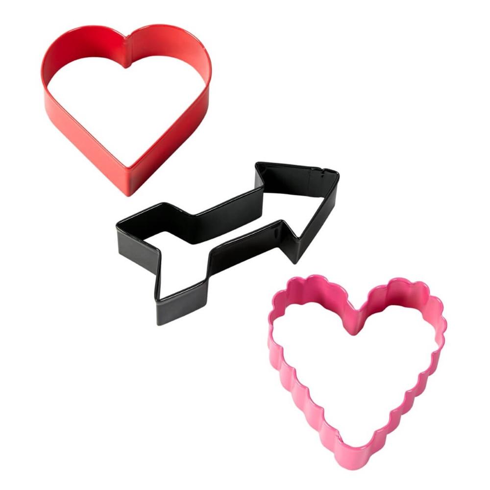 Set de 3 Cortadores Valentine
