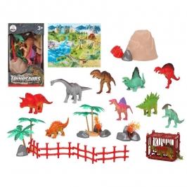 Set para Decorar Dinosaurios 16 uds