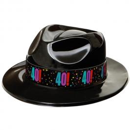 Sombrero Gangster 40 Años