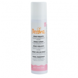 Spray comestible rosa perlado 75ml - My Karamelli