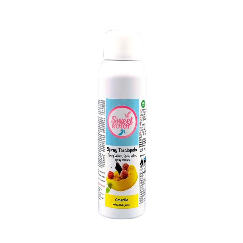 Spray Efecto Terciopelo Amarillo 150 ml