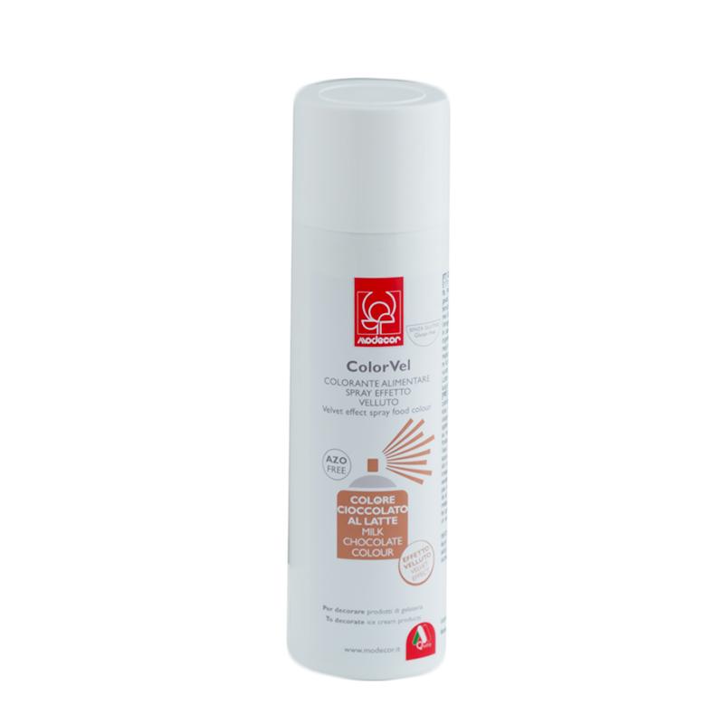 Spray Efecto Terciopelo Chocolate con Leche 250 ml