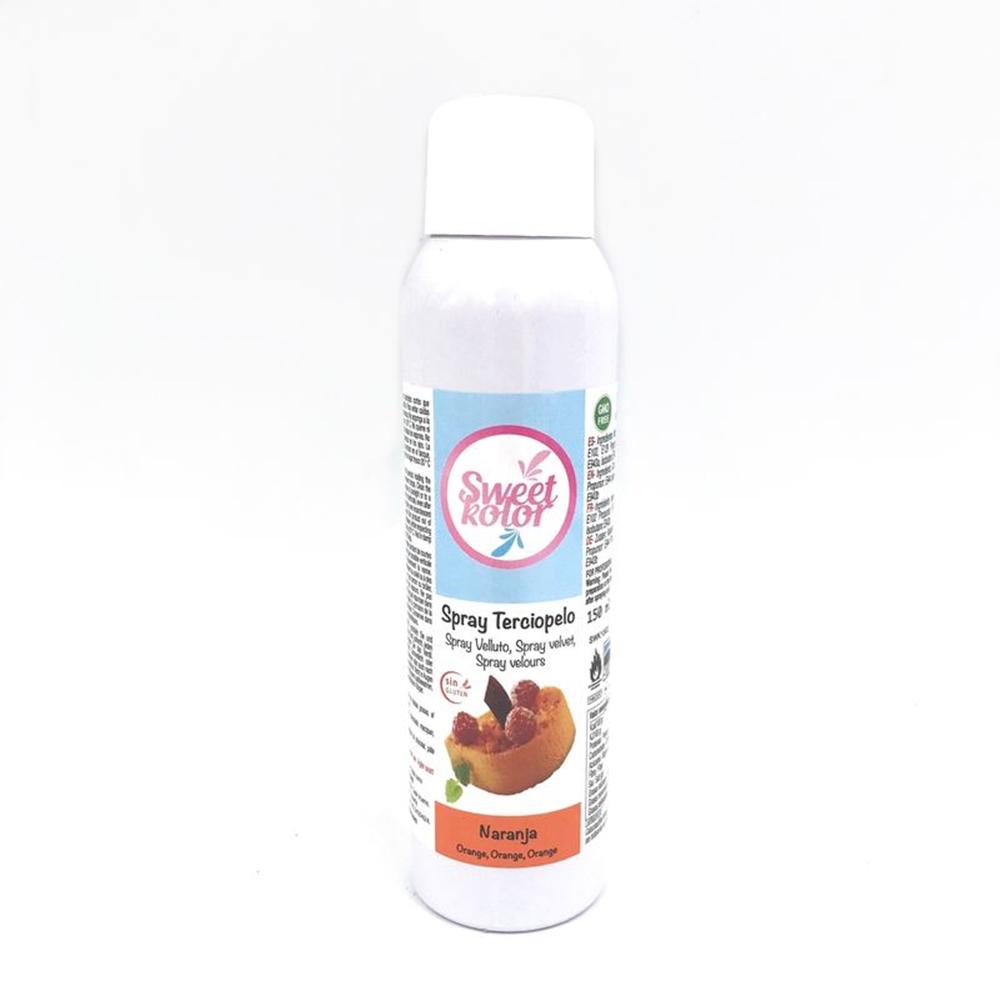 Spray Efecto Terciopelo Naranja 150 ml