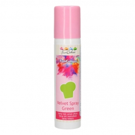 Spray Efecto Terciopelo Verde 100 ml