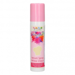 Spray Efecto Terciopelo Chocolate Blanco 100 ml