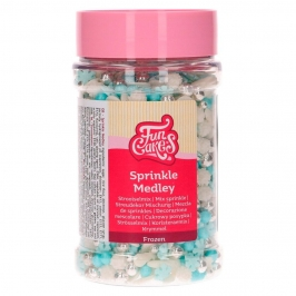 Sprinkles Azules, Blancos y Plateados Frozen