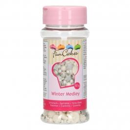 Sprinkles Medley Winter 50 gr - FunCakes
