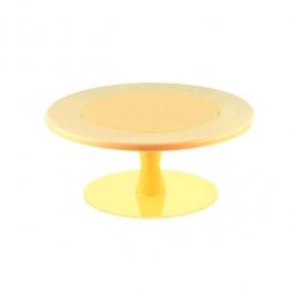 Stand Color Amarillo para tartas 30cm