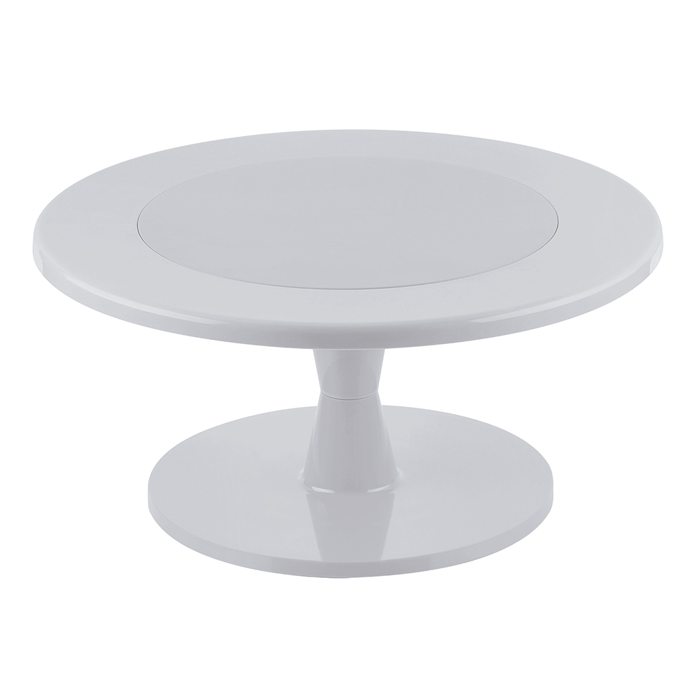 Stand color Blanco para tartas 24 cm
