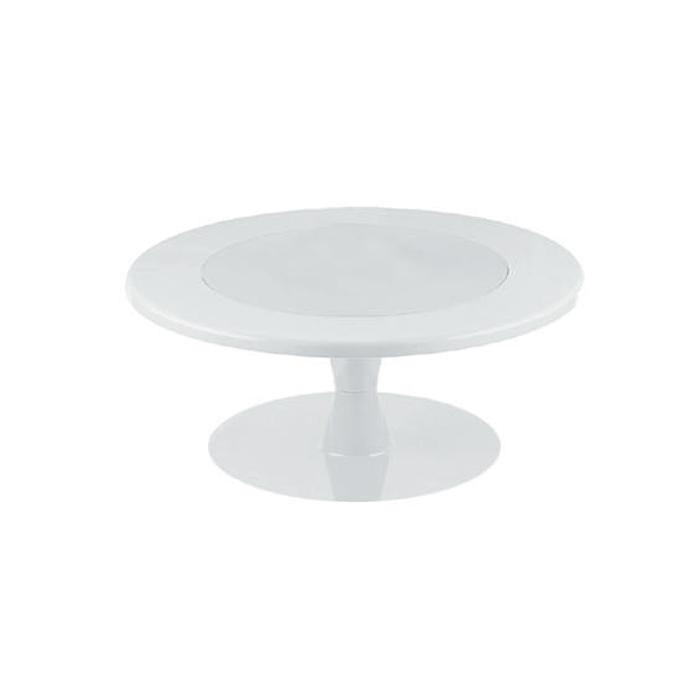 Stand Color Blanco para tartas 30cm
