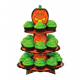 Stand Cupcakes Calabazas 3 Bases