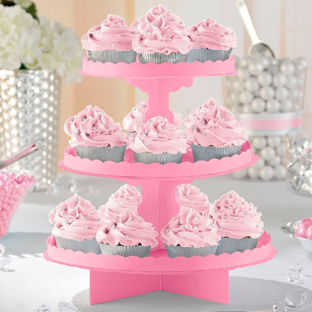 Stand para Dulces y Cupcakes New Pink