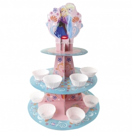 Stand para cupcakes Frozen