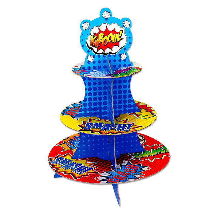 Stand para Cupcakes Superhéroes