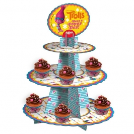 Stand para Cupcakes Trolls