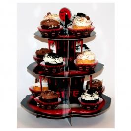 Stand para Cupcakes Vampiro