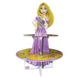 Stand para cupcakes y dulces de Rapunzel de Princesas Disney
