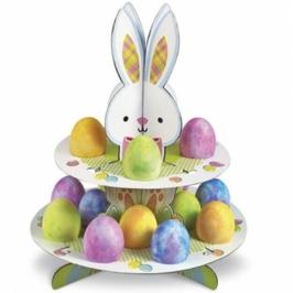 Stand para huevos de Pascua y dulces