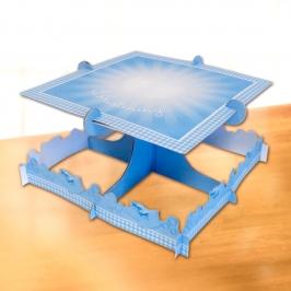 Stand para tartas Bautizo Azul
