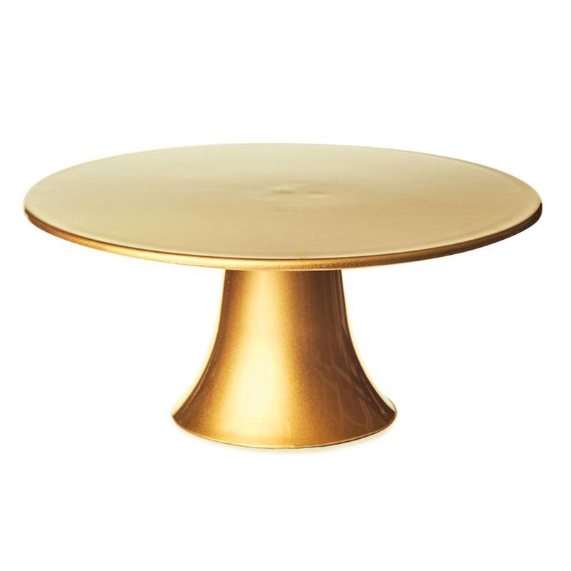 Stand para Tartas Dorado 22 cm