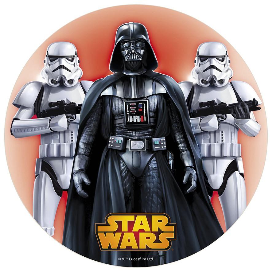 Disco de azúcar Star Wars 20cm