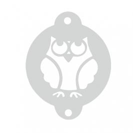 Stencil Búho