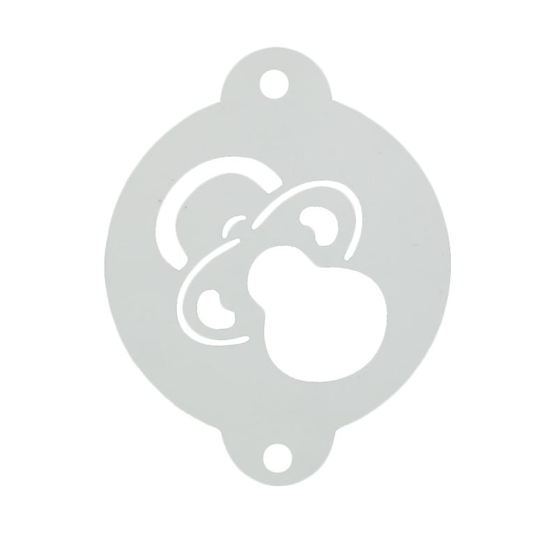 Stencil Chupete Bebé