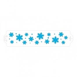Stencil copos de nieve 30cm