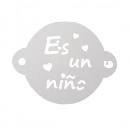 Stencil Es Un Niño