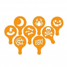 Pack 8 Stencils Halloween