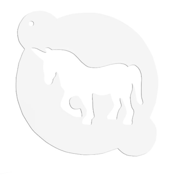 Stencil Unicornio