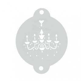Stencil Lámpara Barroca
