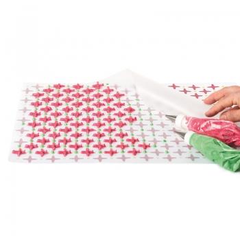 Tapete de silicona transparente y antiadherente