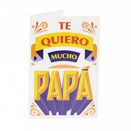 Tarjeta de Felicitación Día del Padre Modelo 5