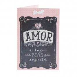 Tarjeta de Felicitación Amor Modelo A
