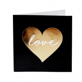 Tarjeta de Felicitación Love